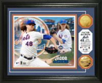 Jacob deGrom Gold Coin Photo Mint