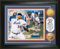 Matt Harvey Gold Coin Photo Mint