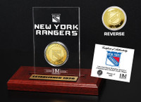 New York Rangers Etched Acrylic Desktop