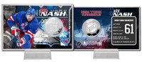 Rick Nash Silver Coin Card