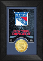 New York Rangers Bronze Coin Mini Mint