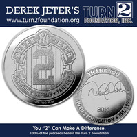 Derek Jeter Final Season Foundation Coin