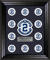 Derek Jeter Final Season Coin Collection Display