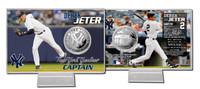 Derek Jeter Silver Coin Card