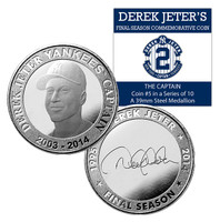 Derek Jeter Final Season The Captain Coin #5