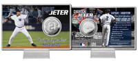 Derek Jeter Final Season Silver Coin Card