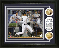 Derek Jeter Triple Play Gold  Coin Photo Mint
