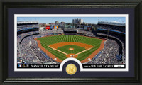 New York Yankees Minted Coin Panoramic Photo Mint