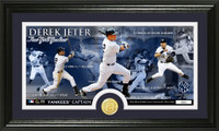 Derek Jeter Final Season Pano Minted Coin Photo Mint