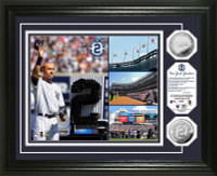 Derek Jeter Day Silver Coin Photo Mint