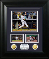 Derek Jeter Final Games Gold Coin Marquee Photo Mint