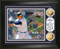 Alex Rodriguez Gold Coin Photo Mint