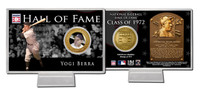 Yogi Berra Hall of Fame Coin Card