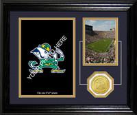 University of Notre Dame Fan Memories Desktop Photomint