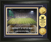 University of Notre Dame Gold Coin Photo Mint