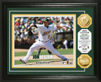Jon Lester First Start Gold Coin Photo Mint