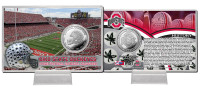 *Ohio State Buckeyes 8-Time National Champions Silver Coin Card