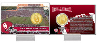 University of Oklahoma Bronze Coin Card
