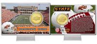 Oklahoma State University Bronze Coin Card
