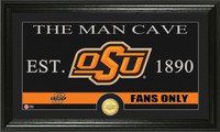 Oklahoma State University Man Cave Bronze Coin Panoramic Photo Mint
