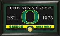 University of Oregon Man Cave Bronze Coin Panoramic Photo Mint
