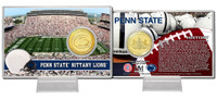 Penn State Bronze Coin Card