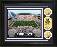 Penn State Stadium Gold Coin Photo Mint