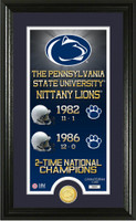 Penn State University Legacy Bronze Coin Panoramic Photo Mint