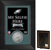 Philadelphia Eagles Selfie Minted Coin Mini Mint