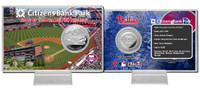 Citizens Bank Park Silver Coin Card