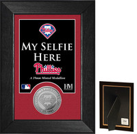Philadelphia Phillies Selfie Minted Coin Mini Mint