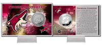 Phoenix Coyotes Silver Coin Card