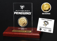 Pittsburgh Penguins Etched Acrylic Desktop