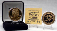 Sidney Crosby 24KT Gold Coin