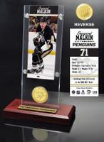 Evgeni Malkin Ticket & Bronze Coin Acrylic Desk Top