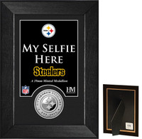 Pittsburgh Steelers Selfie Minted Coin Mini Mint