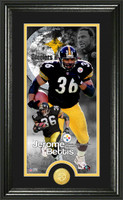 Jerome Bettis Supreme Bronze Coin Panoramic Photo Mint