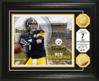 Ben Roethlisberger Gold Coin Photo Mint