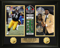 Jerome Bettis 2015 HOF Induction Gold Coin Photo Mint