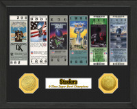 Pittsburgh Steelers  SB Championship Ticket Collection