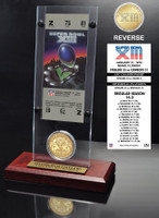 Super Bowl 13 Ticket & Game Coin Collection