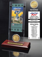 Super Bowl 14 Ticket & Game Coin Collection