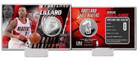 Damian Lillard Silver Coin Card