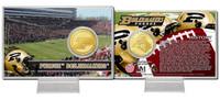 Purdue University Bronze Coin Card