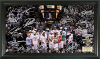 San Antonio Spurs 2014 NBA Finals Champions Celebration Signature Court