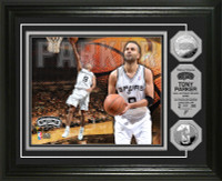 Tony Parker Silver Coin Photo Mint