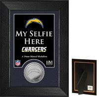San Diego Chargers Selfie Minted Coin Mini Mint