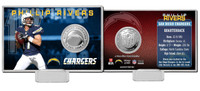 Phillip Rivers Silver Coin Card