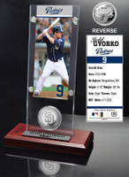 Jed Gyorko Ticket & Minted Coin Acrylic Desk Top