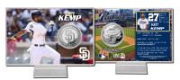Matt Kemp Silver Coin Card